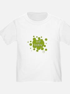 IVF baby - green T
