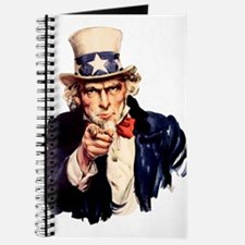 Uncle Sam: WE WANT YOU Journal