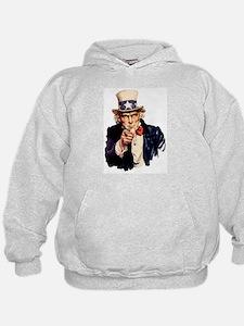 Uncle Sam: WE WANT YOU Hoodie