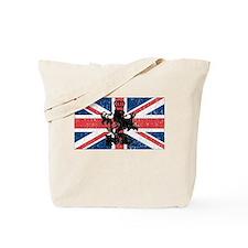 Union Jack Vintage Tote Bag