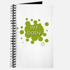IVF baby - green Journal