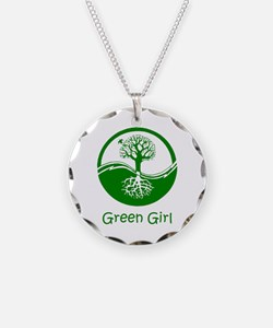 Green Girl Necklace