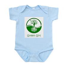 Green Girl Infant Bodysuit