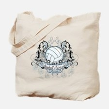 Volleyball Grandma Tote Bag