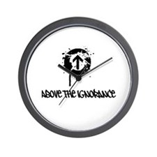 Above the Ignorance Wall Clock