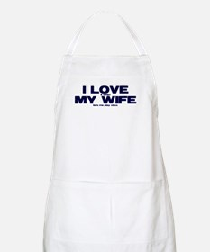 I love my wife Xbox funny Apron