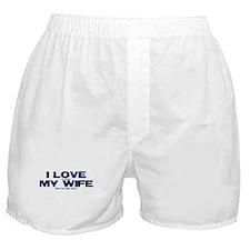 I love my wife Xbox funny Boxer Shorts