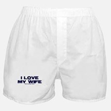 I love my wife Xbox funny Boxer Shorts
