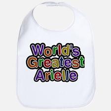 Worlds Greatest Arielle Baby Bib