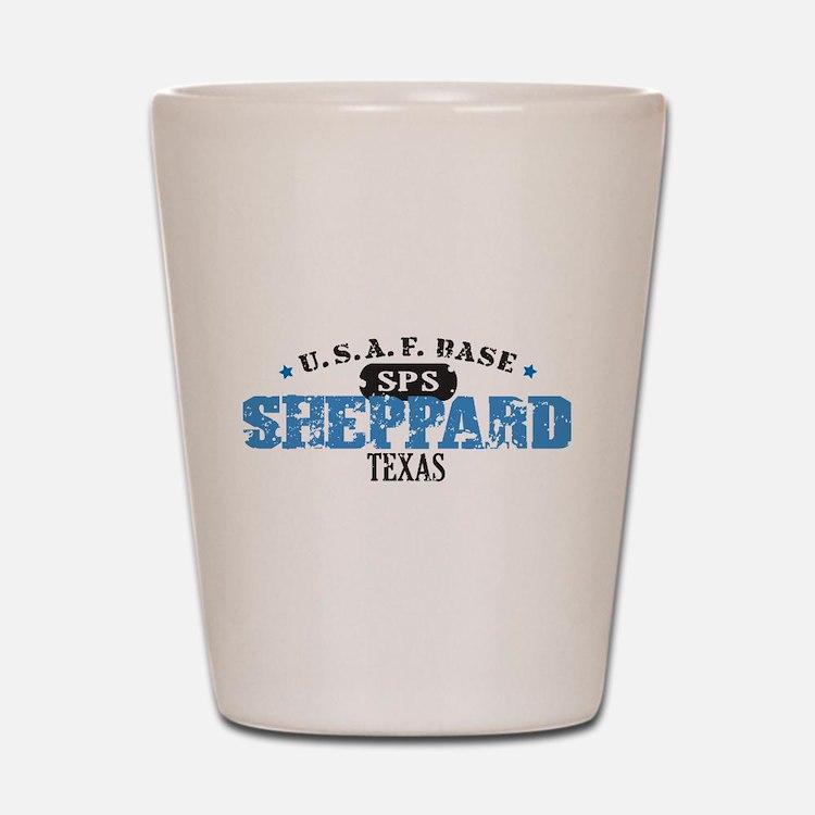 Sheppard Air Force Base Shot Glass