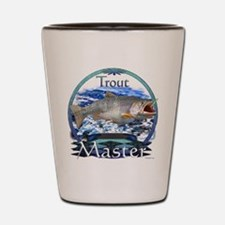 Trout master Shot Glass