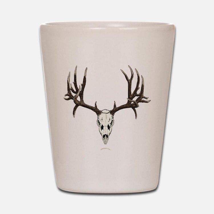 Deer skull Shot Glass