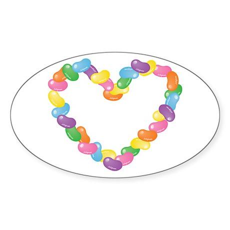 JellyBeanHeart Sticker