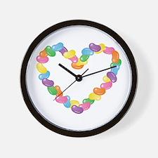 Cute Jelly bean Wall Clock