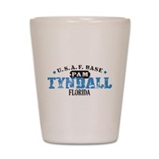 Tyndall Air Force Base Shot Glass