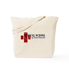 Funny School hard knocks Tote Bag