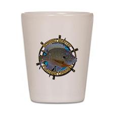 Bluegill Master Shot Glass