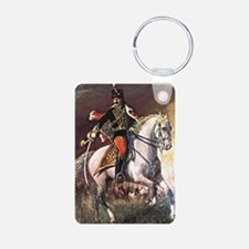 Hussar Aluminum Photo Keychain