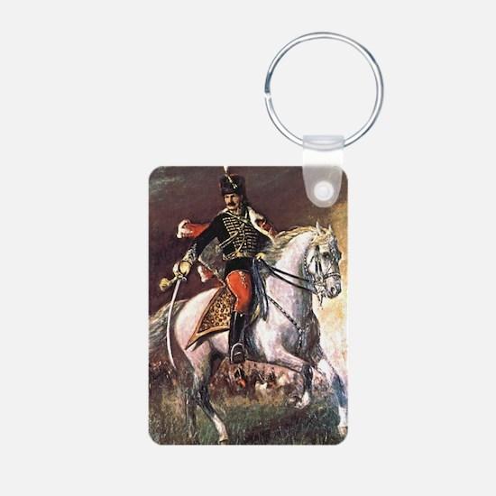 Hussar Aluminum Photo Keychain