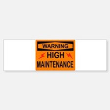 WARNING Car Car Sticker