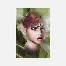 Dark Forest Dreams elf Rectangle Magnet
