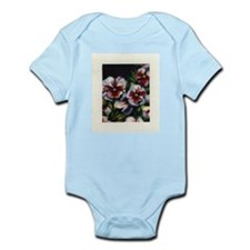 """Pansies"" Infant Bodysuit"