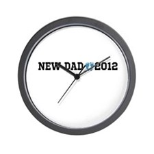 New Dad 2012 Wall Clock