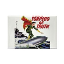 $4.99 Torpedo of Truth Rectangle Magnet
