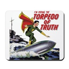 $14.99 Torpedo of Truth Mousepad