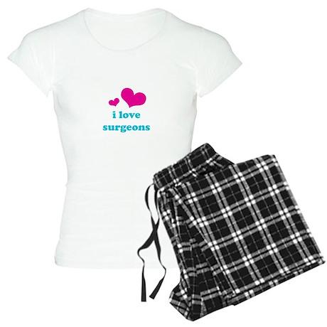 I Love Surgeons Women's Light Pajamas