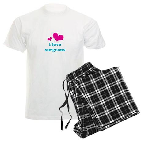 I Love Surgeons Men's Light Pajamas