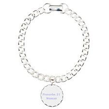 Lilac Proverbs 31 Woman Bracelet