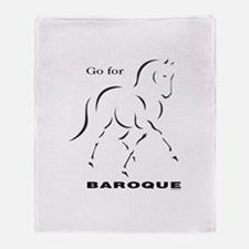 Go for Baroque Throw Blanket