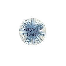miracle baby purple starburst Mini Button