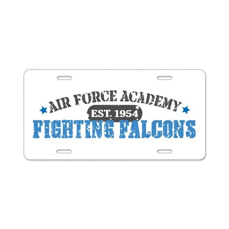 Air Force Falcons Aluminum License Plate