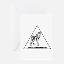 Modern Army Combatives Greeting Card