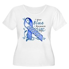 I Wear Blue Because I Love My Niece T-Shirt