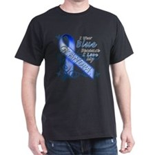 I Wear Blue Because I Love My Grandpa T-Shirt