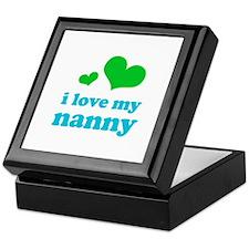 I Love My Nanny Keepsake Box