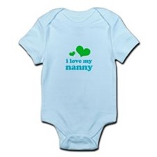 I Love My Nanny Infant Bodysuit