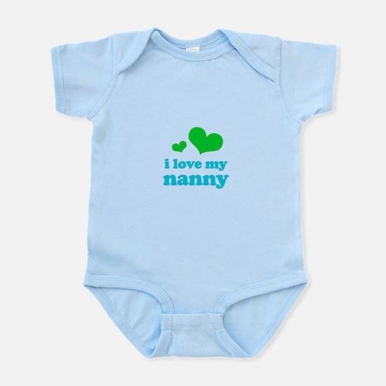 I Love My Nanny Infant Bodysuit