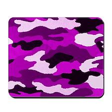 Purple Camo Mousepad