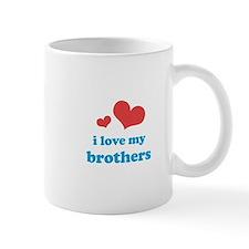 I Love My Brothers Mug
