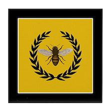 Stylized Bee Tile Coaster