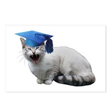 Cat Graduation Postcards (Package of 8)
