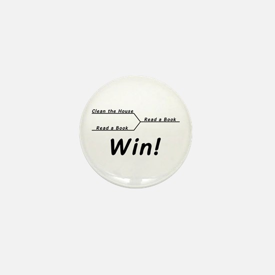Win! Mini Button