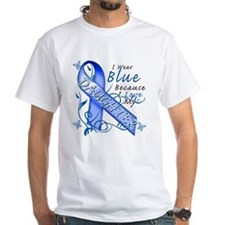 I Wear Blue Because I Love My Daughter Shirt