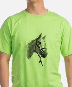 T-Shirt with horse design on the front