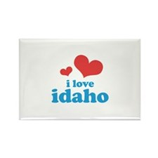 I Love Idaho Rectangle Magnet