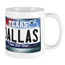 Texas License Plate [DALLAS] Mug